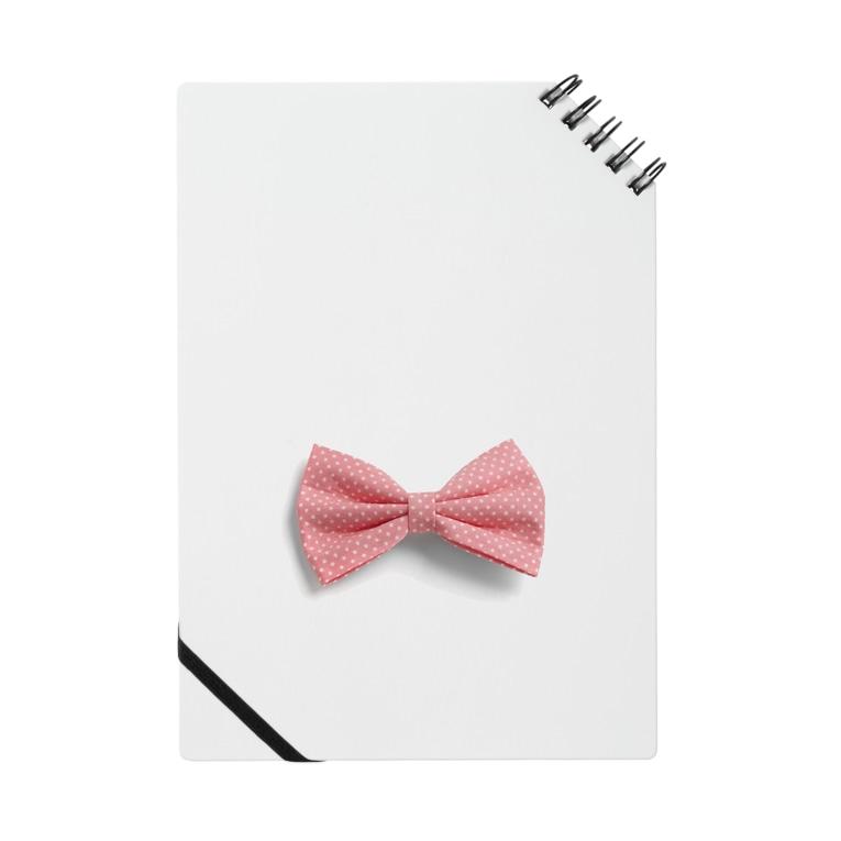 Ribbon-corsage*のピンクリボン Notes