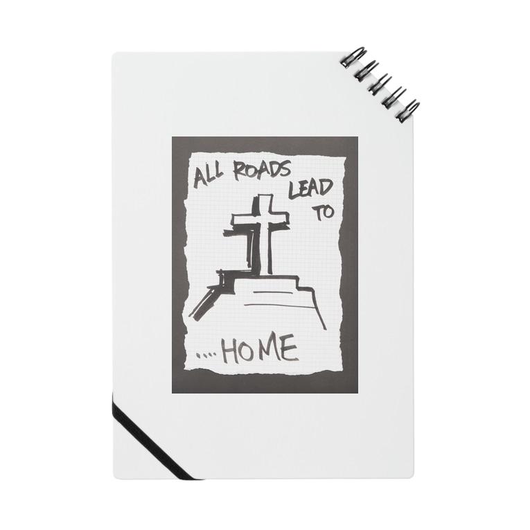 LUNARHOLIC STOREの偽諺~弐~「全ての道はホームに通ず」(黒縁) Notes