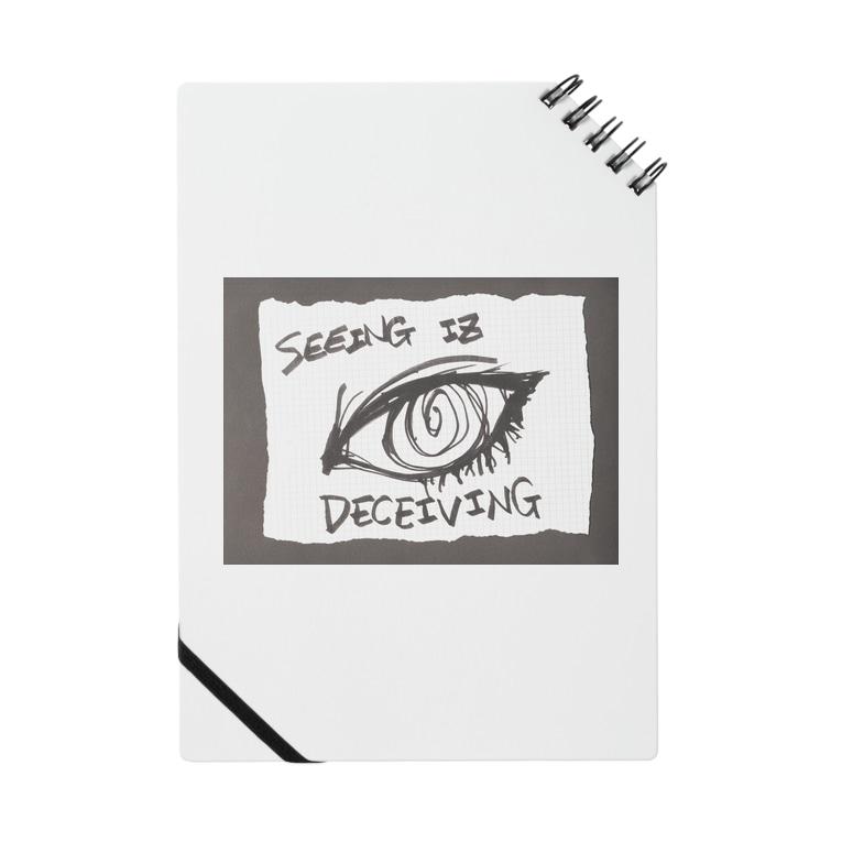 LUNARHOLIC STOREの偽諺~参~「百聞は一見に如く」(黒縁) Notes