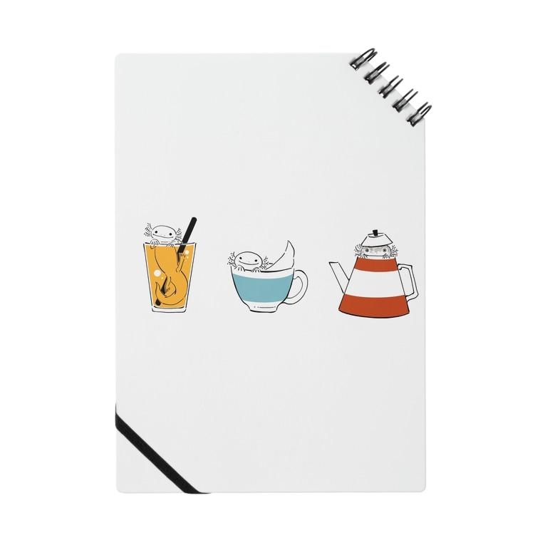 ぬたやの喫茶ウーパールーパーちゃん Notes
