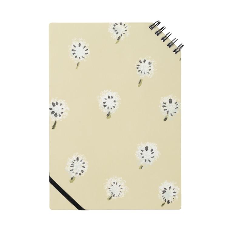 u-fuのふわふわ綿毛いっぱい Notebook