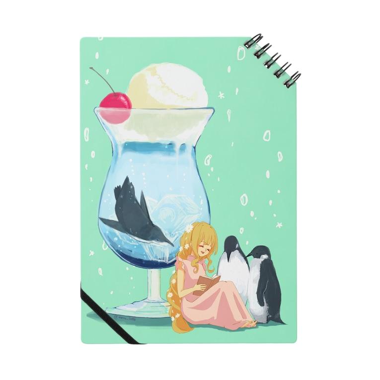 meru_lotteのシェフの懐かしクリームソーダ Notebook