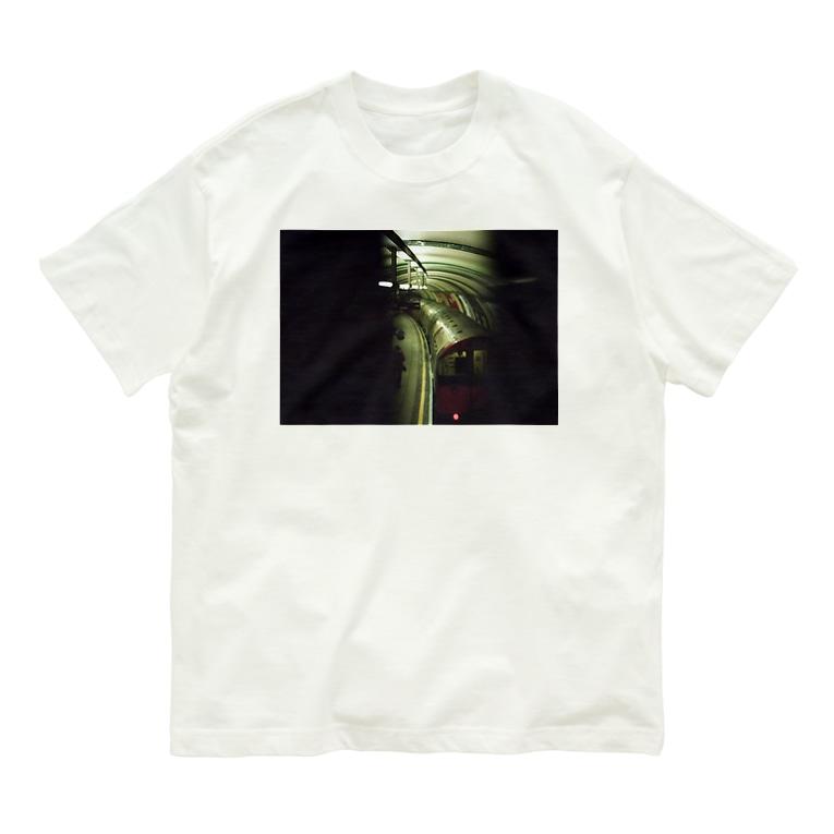 hajimenanoのかっこいい地下鉄 Organic Cotton T-shirts
