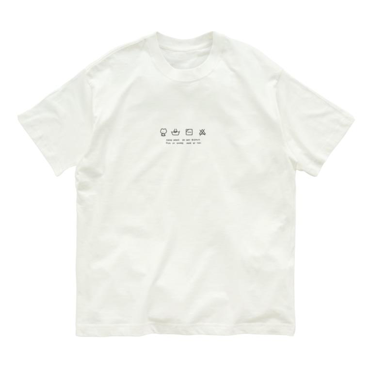 neochiのsentaku Organic Cotton T-shirts