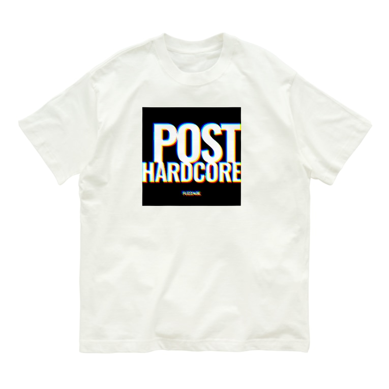 FUZZAGE™ (ファズエイジ)のFUZZAGE No.10 POST HARDCORE Organic Cotton T-shirts
