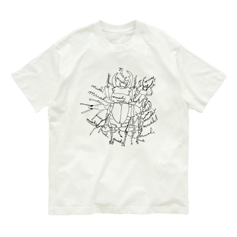 オガサワラミチのmushi Organic Cotton T-shirts