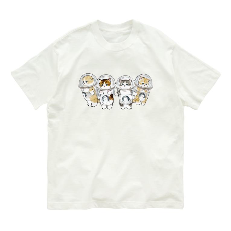 mofusandの防御力ZERO宇宙服 Organic Cotton T-shirts