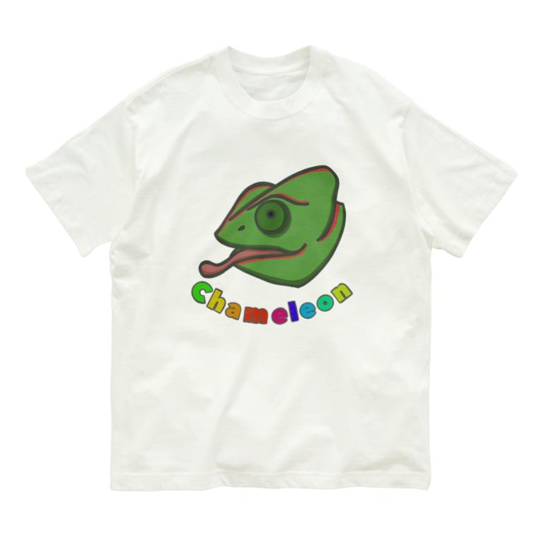 prunelleのカメレオン Organic Cotton T-shirts