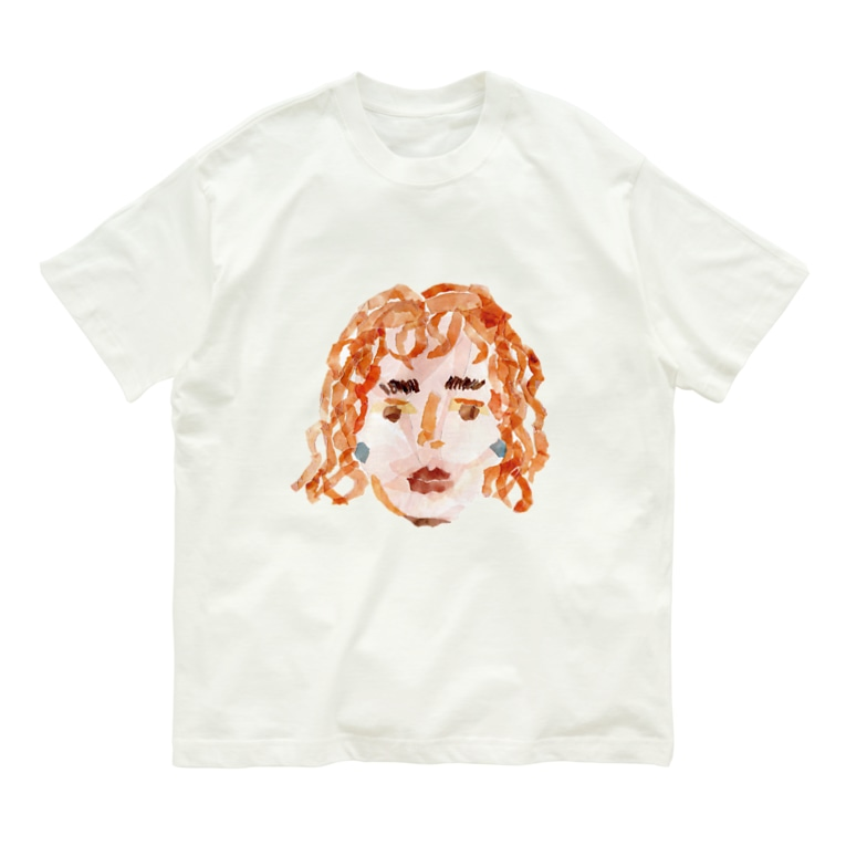 のばら(NOBARA)のGIRLシリーズ Organic Cotton T-Shirt