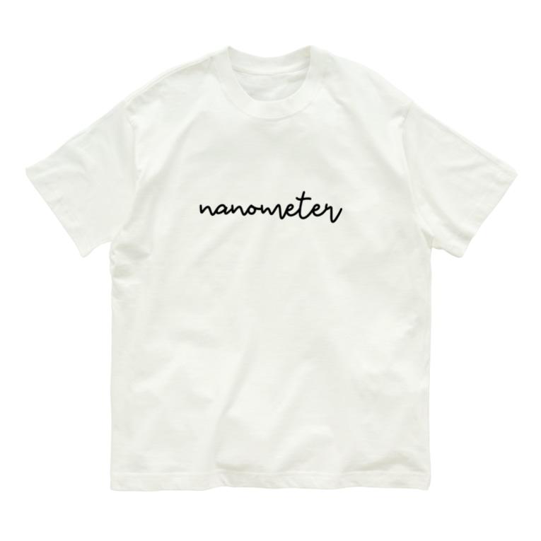 nanometerのnanometerオーガニックコットンTシャツ Organic Cotton T-shirts