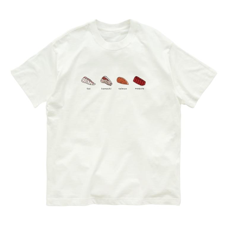 WAZAWAZAの刺身 Organic Cotton T-shirts