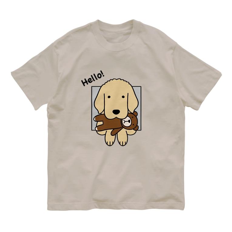 efrinmanのハロー!(両面) Organic Cotton T-shirts