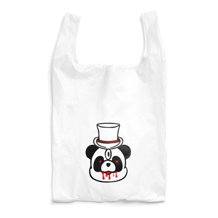 key.のエキセントリックアニマル パンダ Reusable Bag