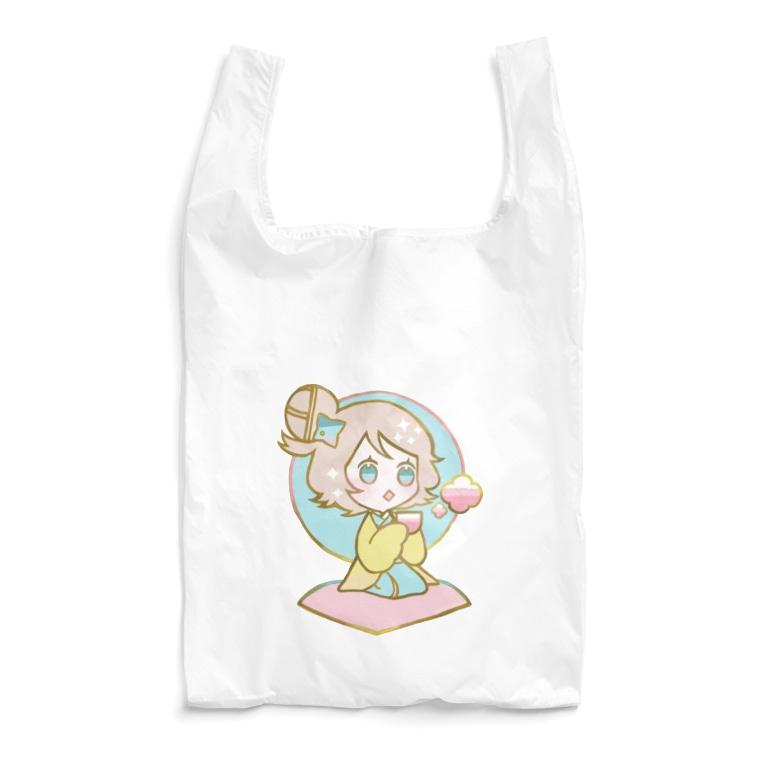7_nanaのちどりB Reusable Bag