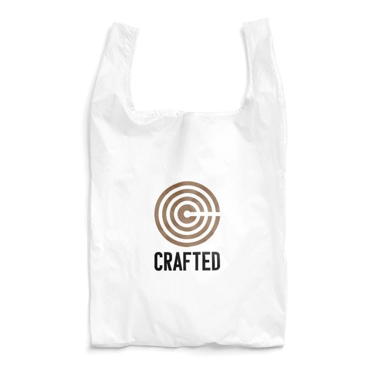 なかむらりか商店のCRAFTED 黒ロゴ Reusable Bag
