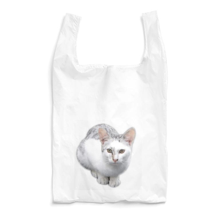 トロワ イラスト&写真館のカッコイイ!猫ちゃん Reusable Bag