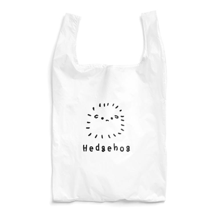 おもち屋さんの無色のハリネズミ Reusable Bag