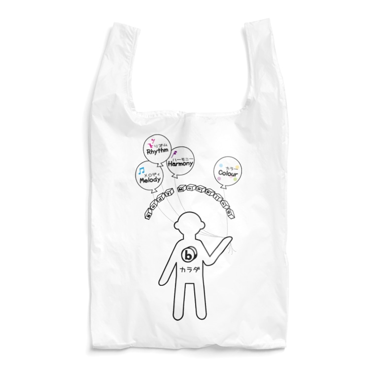 ミナミハチゴーのフーセン君 Reusable Bag