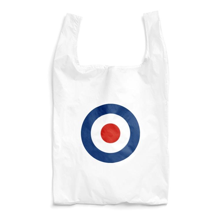 カマラオンテのTARGET MARK ターゲットマーク who イギリス海軍 モッズ ロンドン who ク ラウンデル Roundel 円 Reusable Bag