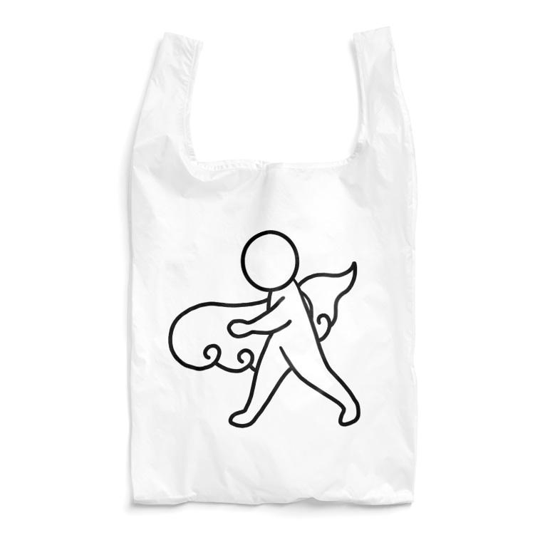 さらだの筋斗雲とさんぽ Reusable Bag