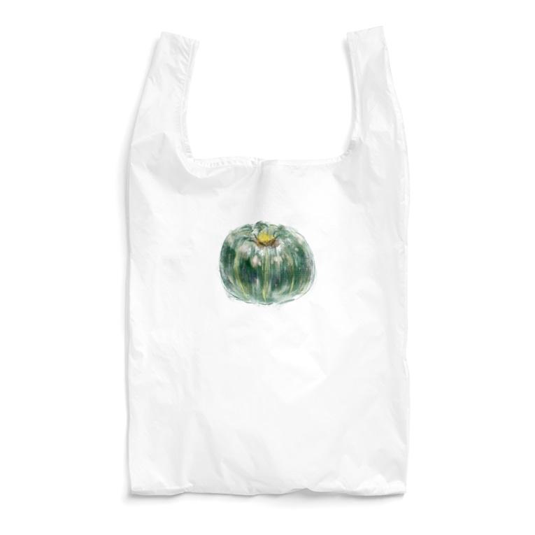 akane_art(茜音工房)のベジタブルバッグ(カボチャ) Reusable Bag