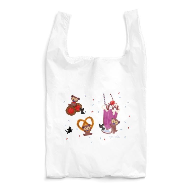イラストレーター おおでゆかこのSweets Reusable Bag