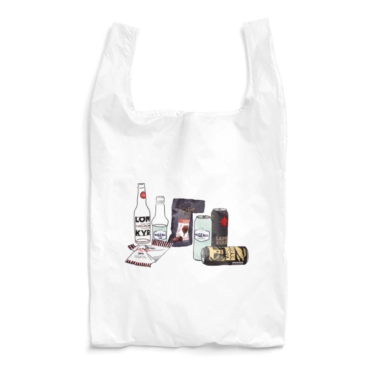 週末北欧部のフィンランドのライトな酒 Reusable Bag