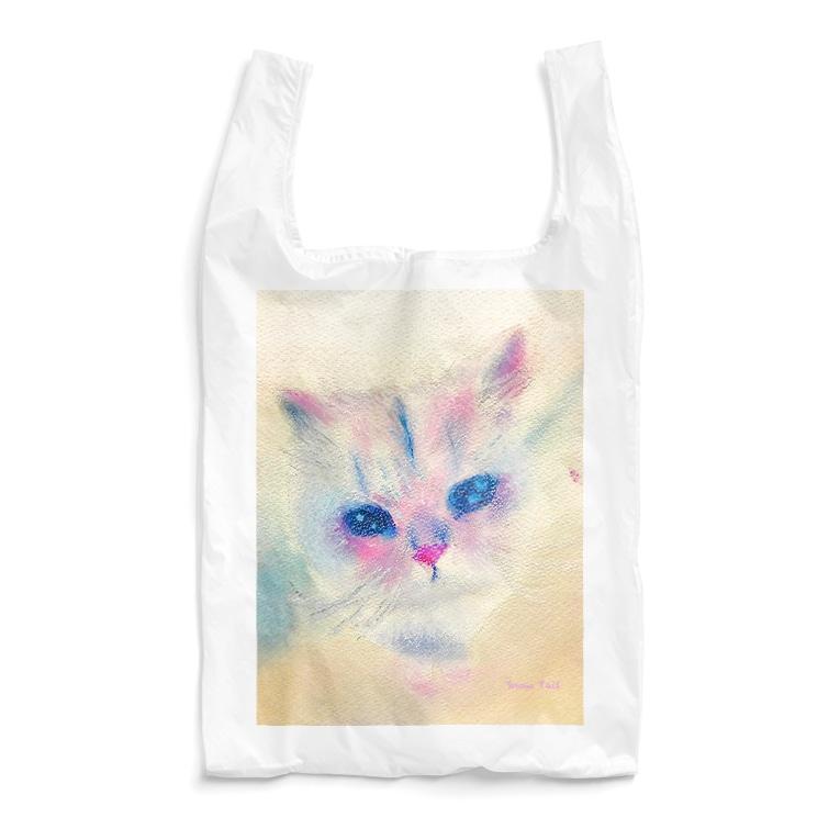 Snow Tailのあっぷにゃんこ Reusable Bag
