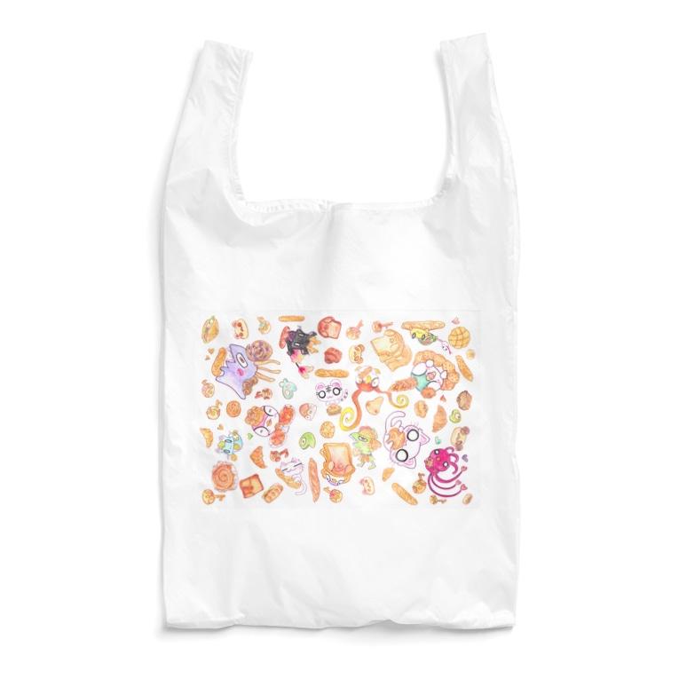 「おみせザウルス~UMA&UMA~」 セザールSHOPのパン×あにまる Reusable Bag
