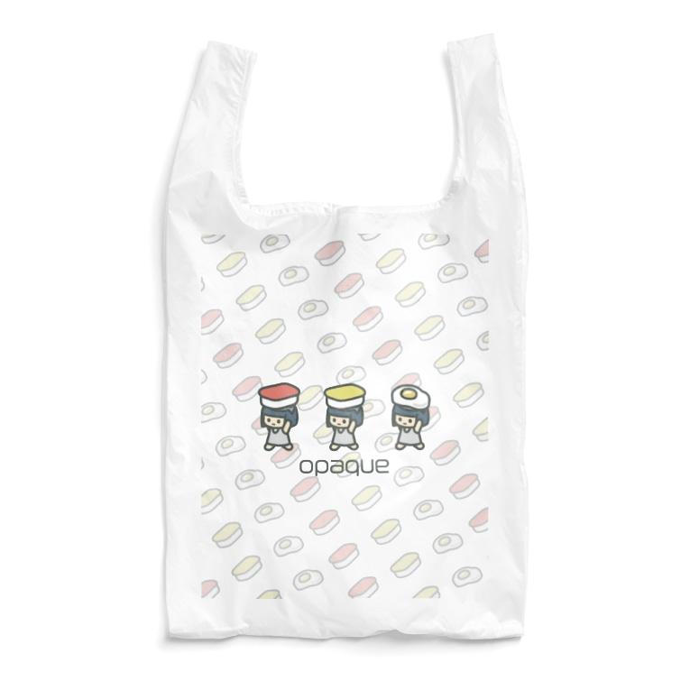 opaqueのさかなの子 Reusable Bag