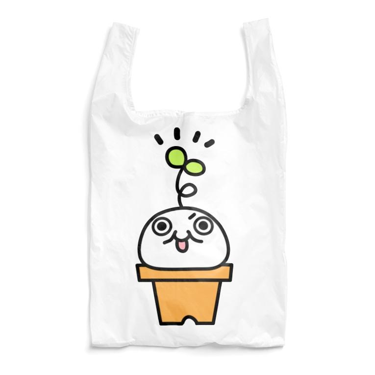 トシゾーのSUZURIのとこの鉢植えモチゾー Reusable Bag