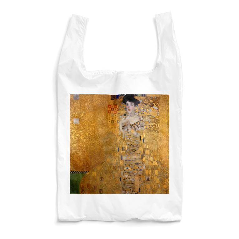 art-standard(アートスタンダード)のグスタフ・クリムト(Gustav Klimt) / 『アデーレ・ブロッホ=バウアーの肖像 I』(1907年) Reusable Bag