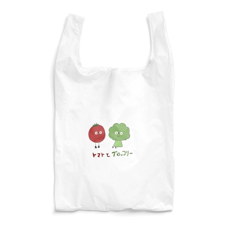 ふふののトマトとブロッコリー Reusable Bag