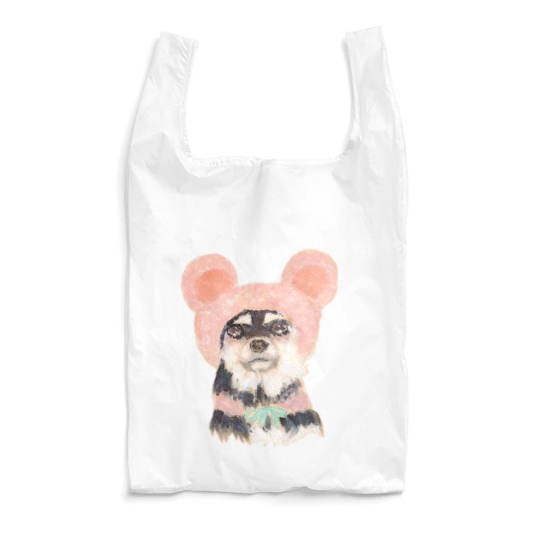 erichandmade × eric_joy_のくまいぬ Reusable Bag