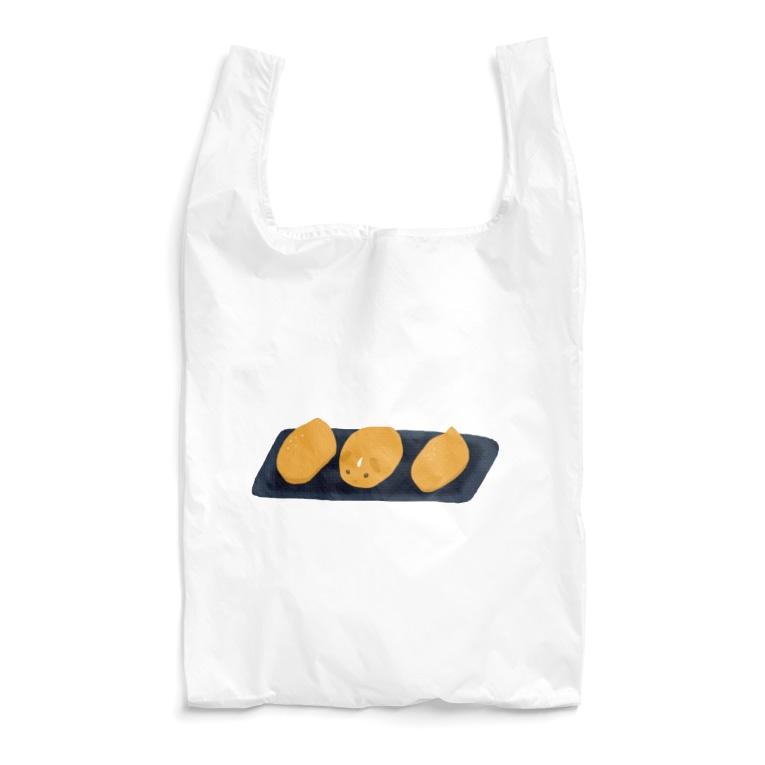 机上の空想ペットショップのいなりもる Reusable Bag