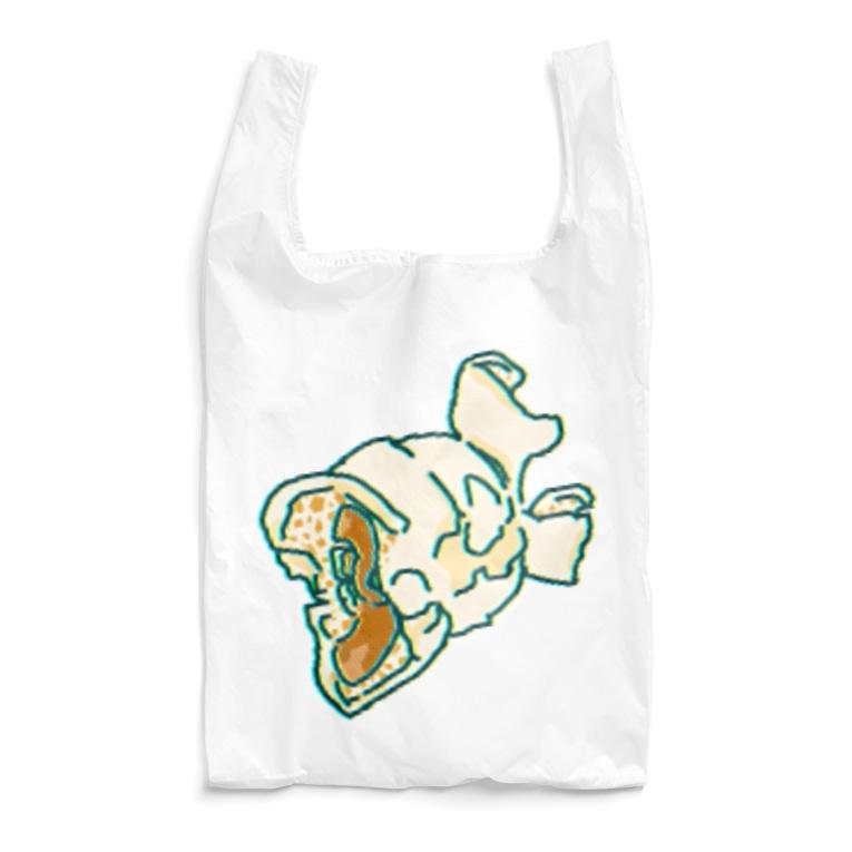 ちぐはぐ屋さんのポップコンひとつ Reusable Bag