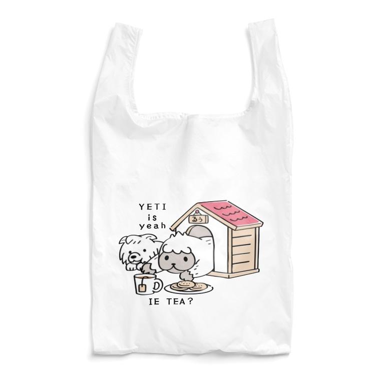 *suzuriDeMonyaa.tag*のCT112 YETI is yeahの家でお茶 Reusable Bag