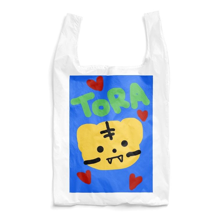永遠にんにくガールworldの虎ちゃん2🐯💫 Reusable Bag