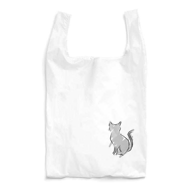 海のサワガニのシンプルキャット Reusable Bag