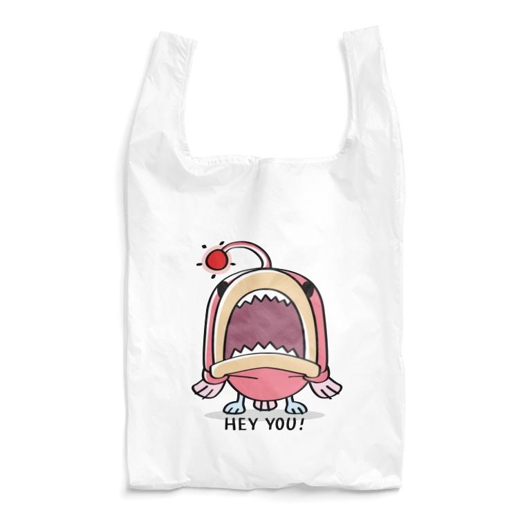 *suzuriDeMonyaa.tag*のCT32海の底のあんこ姫*HEY YOU!*A-2 Reusable Bag