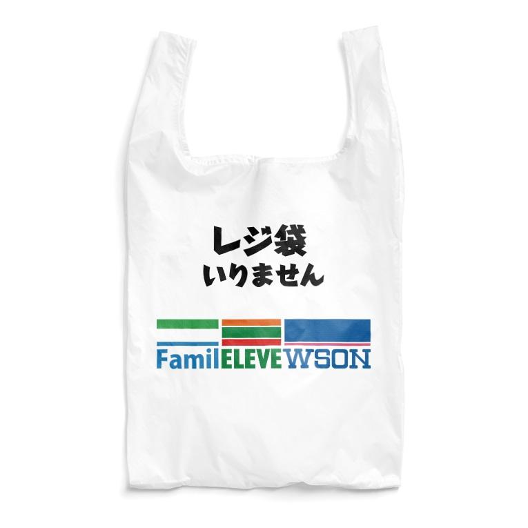gorozomachine_storeのファミレレベウソン/コンビニ専用エコバッグ Reusable Bag