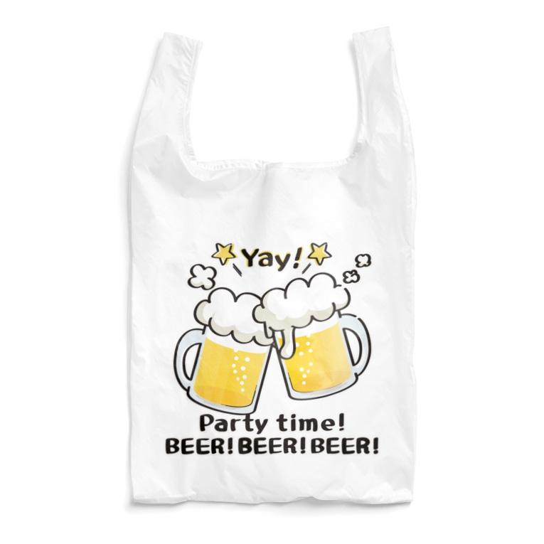 *suzuriDeMonyaa.tag*のCT125 BEER!BEER!BEER! Reusable Bag