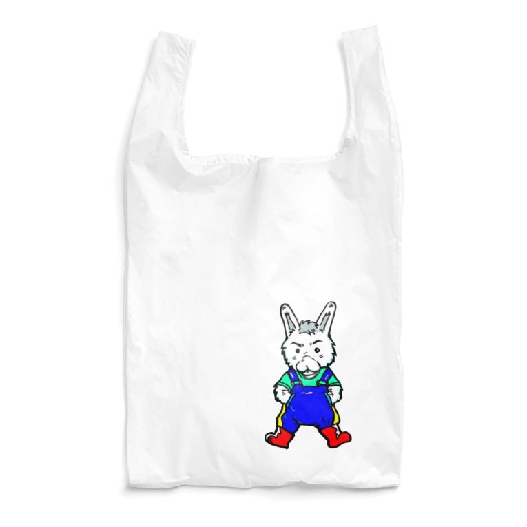 TOMMY★☆ZAWA ILLUSTRATIONのカントリーくん。 Reusable Bag