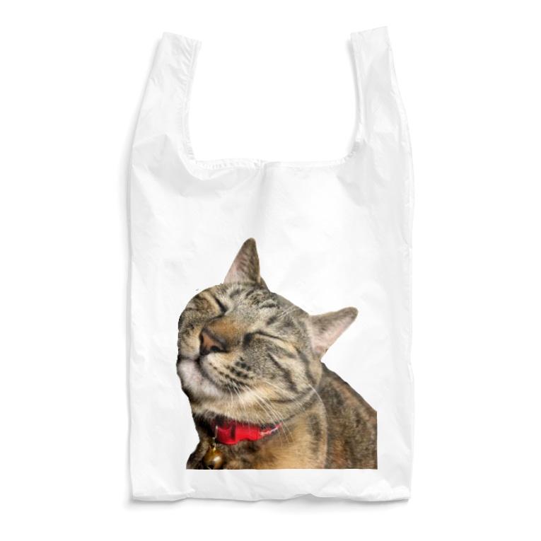ねこまちランドのモカのお眠りタイム Reusable Bag