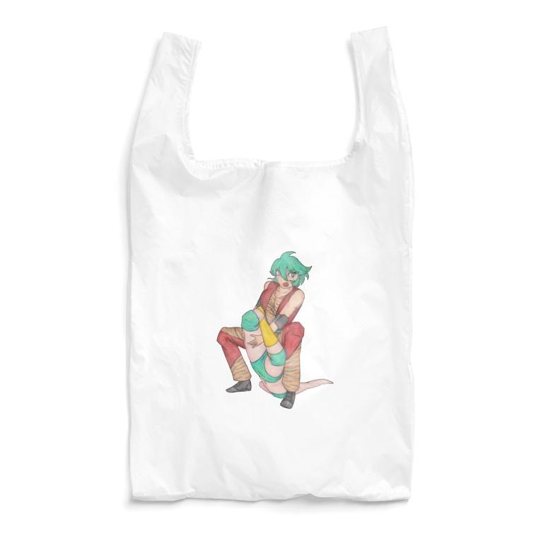 ギャラリー桃胡亭のテキサスクローバーホールド Reusable Bag