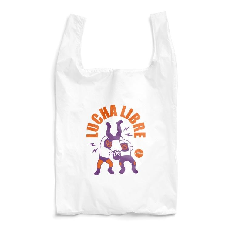 LUCHAのviva la lucha libre#14 Reusable Bag