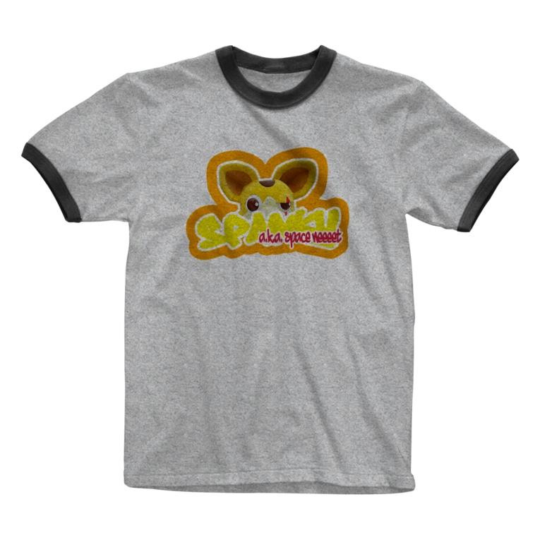 𓀇De La でぃすとぴあ𓁍の覗き見宇宙海賊 Ringer T-shirts