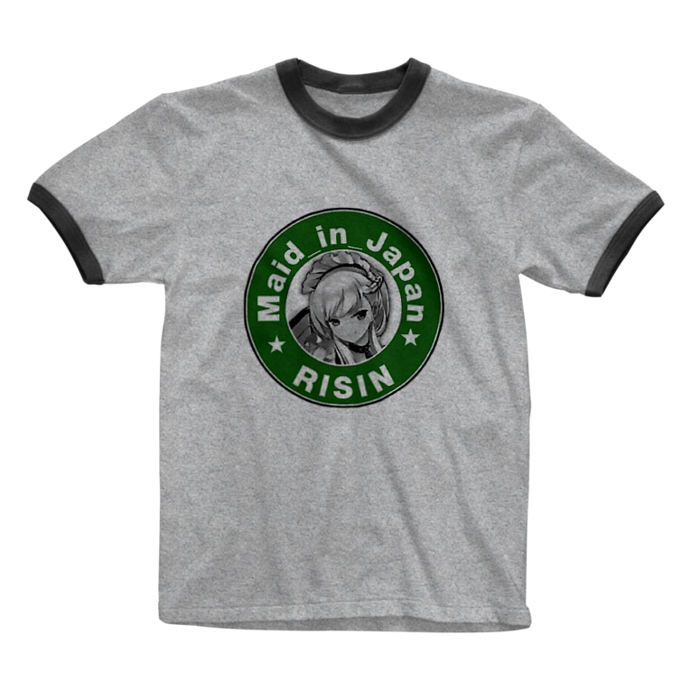 Maid_in_JapanのMaid_in_Japan Ringer T-shirts