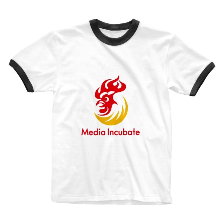 メディアインキュベートのメディアインキュベートストア Ringer T-shirts