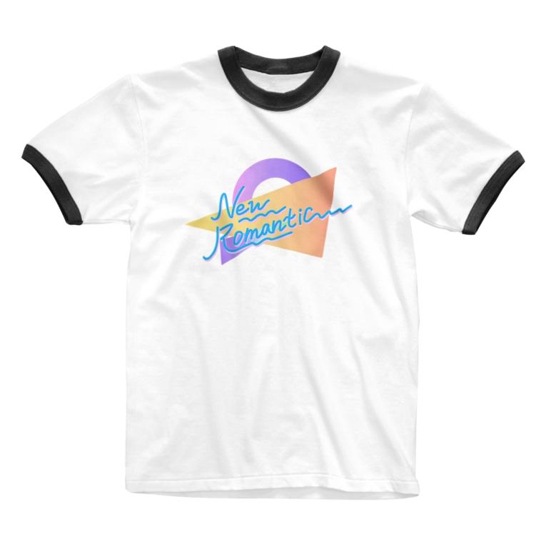 コ八ルのニューロマンチック Ringer T-shirts